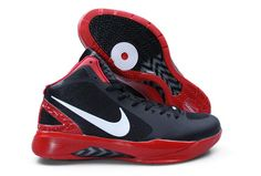 Air Foamposite Nike Hyperdunk 2011 Black White Red [Nike Hyperdunk 2011 - Nike Hyperdunk 2011 Black White Red sneakers are associated with Black Griffin who is the current slam dunk king. The black synthetic upper is durable. Large Nike swooshes are i Nike Factory Outlet, Nike Shoes Outlet, Michael Jordan Shoes, Air Jordan Shoes, Nike Air Jordan Retro, Nike Air Max, Air Max Sneakers, Sneakers Nike, Discount Nike Shoes