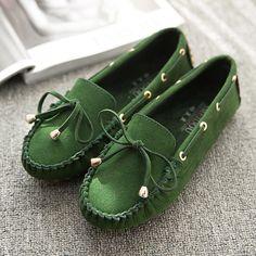 New Arrive Women Flats Women Shoes  2016 Shoes Women Flat Heel Butterfly Flat Women Genuine Leather Shoes