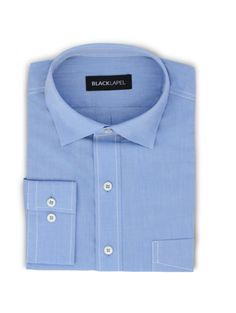 The only thing sharper than a chambray shirt is one perfectly tailored to his size. What a great Father's Day find!