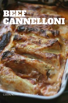 Beef cannelloni with bechamel sauce - Cooking with my kids - Beef cannelloni - Minced Beef Recipes, Minced Meat Recipe, Meat Recipes, Gourmet Recipes, Cooking Recipes, Cooking Kids, Easy Mince Recipes, Recipies, Mince Dishes