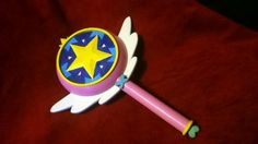 Star vs the Forces of Evil inspired wand cosplay by Chompworks