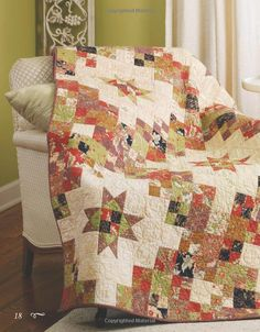 Miss Rosie's Spice of Life Quilts - Ginger Belle