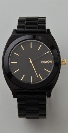 Nixon Time Teller Acetate Watch thestylecure.com