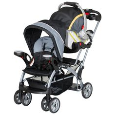 sit and stand stroller...think this is the most logical buy even for 1st babe