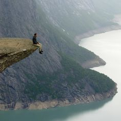On the edge by Olav Eikeland on 500px