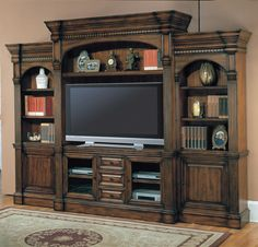 Genoa 5pc Wall Unit by Parker House