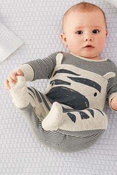 Buy Zebra Sleepsuit And Hat (0mths-2yrs) from the Next UK online shop