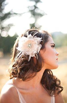 Want this so bad! Serephine 'Renee' Bridal Hair Flower | Nordstrom
