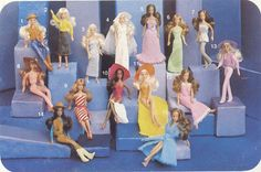 Glamour Gals...another self-esteem killer for little girls of the 80'S, but I loved them!