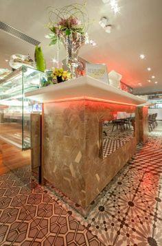 KRION® Blog – Porcelanosa Solid Surface » Primera fachada de KRION® realizada en Reino Unido.