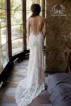 Sexy Brautkleid, Hochzeitskleid, Brautkleider Spitze