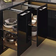New pantry cabinet from Omega Cabinetry