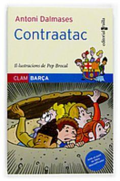 """Sèrie """"Clam Barça"""", d'Antoni Dalmases. Editorial Cruïlla  Coberta de """"Contraatac"""" (número 7)"""