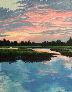 Sunset on the Stono II