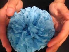 Come Fare una Rosa con i Tovaglioli di Carta / How to Make a Rose with P...