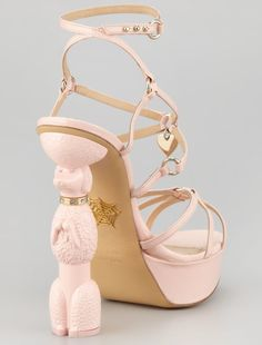 Charlotte Olympia Poodle Heel Platform Sandals Olympia Shoes 222ab2c96