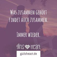 Mehr Sprüche auf: www.girlsheart.de #partnerschaft #liebe #trennung #finden…