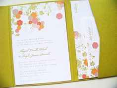 love the small floral print. The Chartreuse multi pocket and the accents of shades of pink and orange.