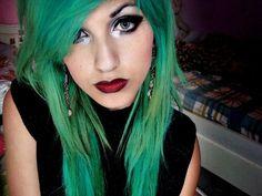 Cute! Bright green