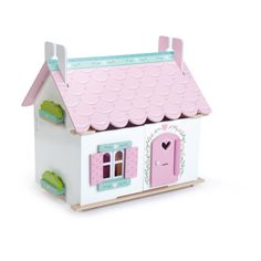 Le Toy Van Lily's Cottage with Furniture - H111