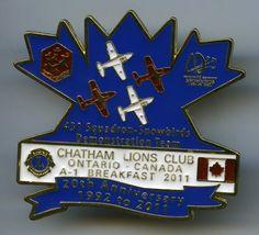 Lions Club - Chatham, Ontario - 2011 - Snowbirds - 431 Squadron - Air Demonstration Team