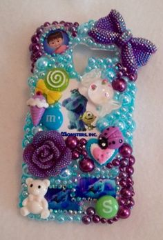 Monster Boo iPhone Samsung Case Girl Rebel Note by ExpressiveCases