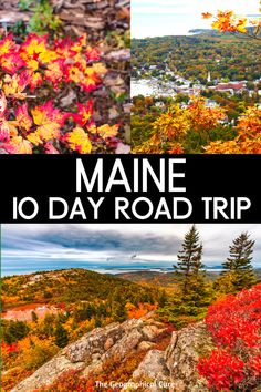 Planning a vacation in the beautiful state of Maine? Or need a dose of seaside charm? If so, I have the perfect 10 day road trip itinerary for coastal Maine. Maine is abundantly beautiful, with unspoiled scenery and gorgeous landscapes. This itinerary takes you to all Maine's must see quaint towns, must see state and national parks, and historic landmarks. Maine Travel | US Road Trips | US Travel | US Itineraries | New England Travel | Acadia National Park | Portland Maine | East Coast… Maine Road Trip, Us Road Trip, Road Trip Hacks, Vacation Places In Usa, Places To Travel, Places To Visit, New England Travel, Road Trip Destinations, Road Trip Essentials