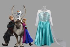 $24 for a Princess Elsa-Inspired Dress - Shipping Included