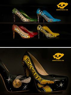 "Walk down the aisle in these amazing shoes. | 25 Completely Magical ""Harry Potter"" Wedding Ideas"