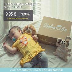 Oferta Flash 24 horas! Recibe entre 5-7 productos para tu bebé valorados en más de 40 por solo 995. 50% de descuento con el código BABY50 Link en bio