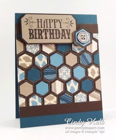Youre Amazing Masculine Birthday by Cindy Hall - Cards and Paper Crafts at Splitcoaststampers