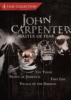 Donald Pleasence & Kurt Russell & John Carpenter-John Carpenter: Master of Fear - 4 Film Collection (The Thing / Prince of Darkness / They Live / Village of the Damned)