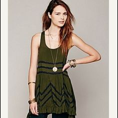 Free People Volie And Trapeze Slip