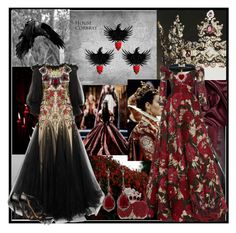 House Corbray of Heart's Home is a noble house from Heart's Home in theVale of Arryn. It is an old but poor house. The ancestral Valyrian steelsword of the Corb. Annoushka, Naeem Khan, My Favorite Color, Lanvin, Polyvore Fashion, Black And White, Formal Dresses, Lady, Alexander Mcqueen