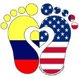 Made with love for the Colombian American Baby Thirty Two, Spanish Speaking Countries, American Baby, Largest Countries, How To Speak Spanish, The Republic, Lululemon Logo, Two By Two, Logos
