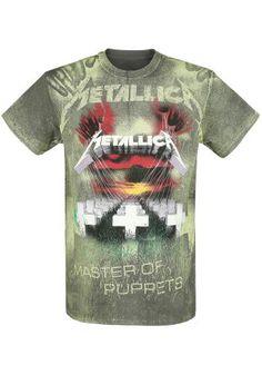 Master Of Puppets - Allover - T-shirt van Metallica