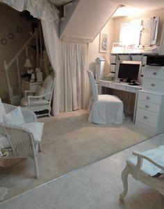 Shabby chic home decor home tour - Debbiedoo's