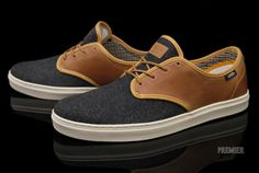 Vans OTW Ludlow  Gray wool and tan faux leather. I really like what Vans has been doing lately.