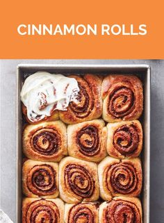 Get the recipe for Cinnamon Rolls. Breakfast Items, Breakfast Bake, Breakfast Dishes, Breakfast Recipes, Dessert Recipes, Best Cinnamon Rolls, Cinnamon Recipes, Baking Recipes, Real Simple Recipes