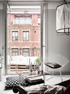 Dit huis combineert modern Scandinavisch met een vleugje vintage - Roomed