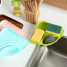 Hello Kitty éponge Savon Titulaire Saver salle de bain plat aspiration caddy rack Distributeurs