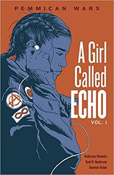 A girl called Echo vol. 1 Pemmican Wars by Katherena Vermette IRC & HAM PN 6733 2017 time travel, graphic novel,native heroine Literature Books, Ya Books, Book Authors, Books To Read, Fiction Books, Fantasy Comics, Fantasy Books, Fantasy Book Covers, Book Cover Art