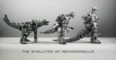 I took this photo in December, 2012 not long after I got my S. MonsterArts Mechagodzilla 2 in the mail. When I realized I had all three incarnations of this man-made metal kaiju in around about the same size, I knew I had Godzilla Figures, Godzilla Toys, Transformers, Japanese Monster, Old School Cartoons, Dragon's Lair, Anime Fantasy, King Kong, Old Movies