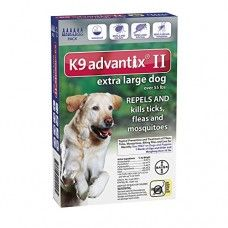 692028491aab4 Advantix II K9 Blue - 6-Month Treatment for Extra Large Dogs Over 55 lbs