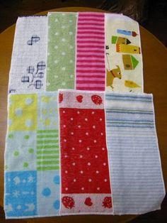 Towels ハンドメイド手作りタオルハンカチ台拭き7枚セット格安即決1 インテリア 雑貨 Handmade ¥500yen 〆10月28日