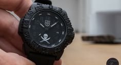 Jolly Roger, a Special Edition of the Luminox US Navy SEALs watch