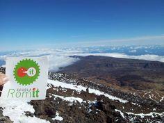 Teide. Uno dei vulcani più belli d'Europa. Ancora attivo. Foto credit: Scuola Romit.
