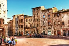 Photograph San Gimignano Square by Francois Crous on 500px