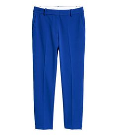 Cigarette trousers   Blue   LADIES   H&M AE