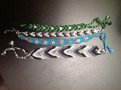 Beads and Knots Friendship Bracelets